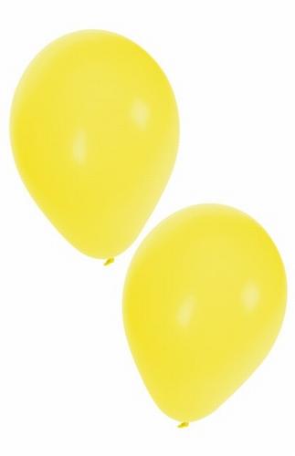 "Ballon  "" Geel ""  per stuk"