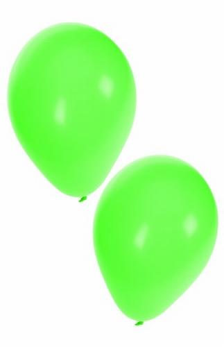 "Ballon  "" Groen ""  per stuk"