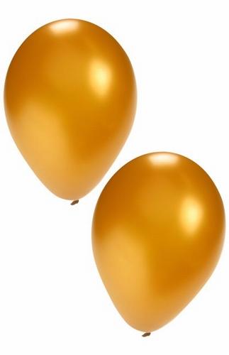 "Ballon  "" Goud ""  per stuk"