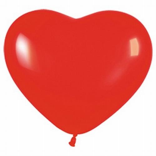 "Hartjes ballonnen  "" Klein ""  per stuk"