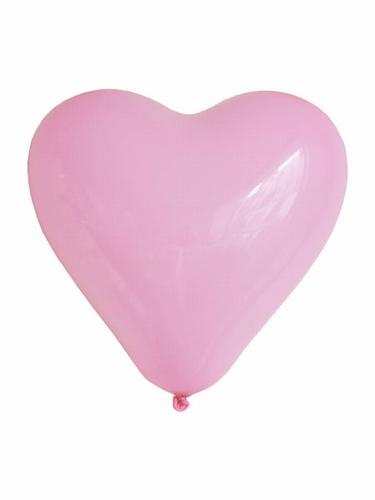 "Hartjes ballonnen  "" Midden ""  per stuk"