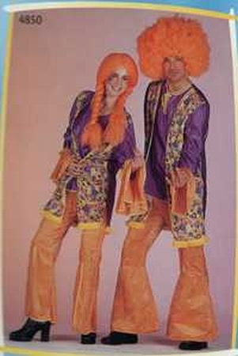 Miss seventies kostuum