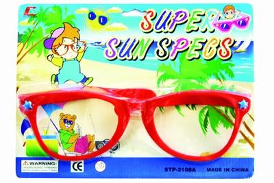 Extra grote bril