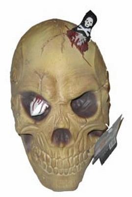 Doodskop met mes