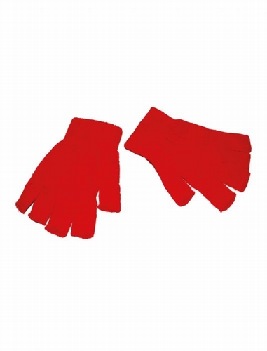"""Vingerloze handschoenen  """"  Rood """""""
