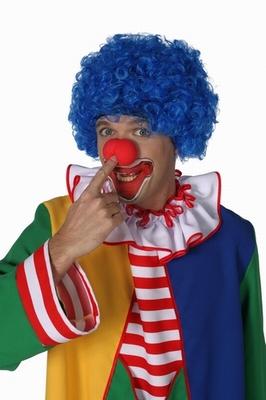 """Clowns pruik  """" Super hair """""""