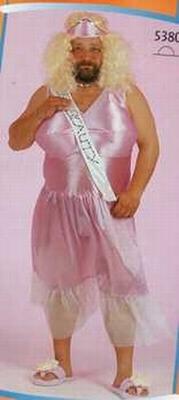 Miss Beauty kostuum (travestiet)