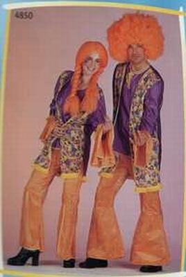 Mr seventies kostuum