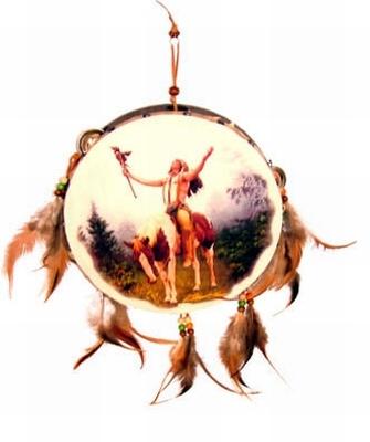 Indianen trommel