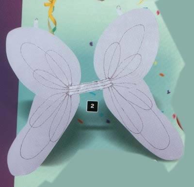 """Engelen vleugels  """" Wit / zilver"""