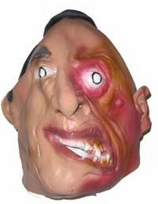 "Masker  "" Man met verbrand gezicht """