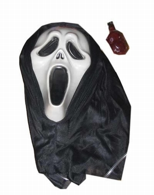 """Masker  """" Scream met bloed """""""