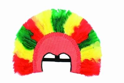 "Samba masker  "" Rood / geel / groen """