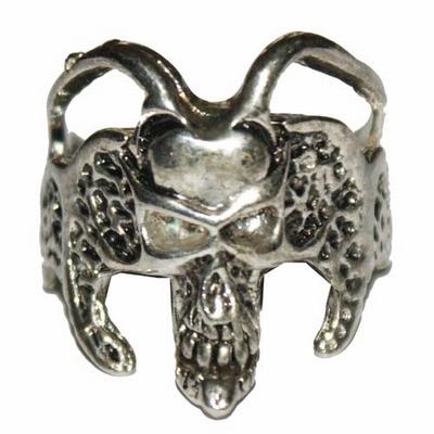 """Gothic ring  """" Doodshoofd """" ( 1 )"""