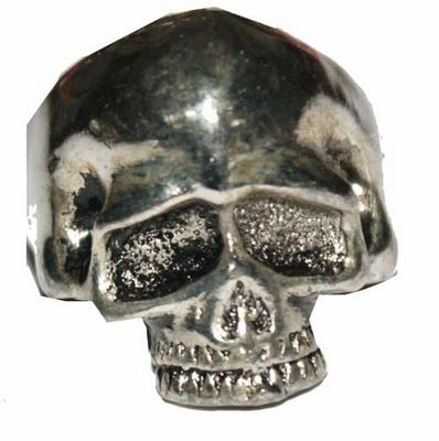 """Gothic ring  """" Doodshoofd  """" ( 2 )"""