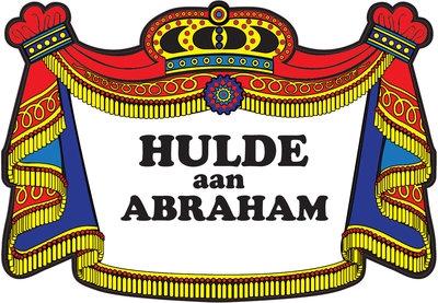 """Huldebord  """" Abraham """"  Klassiek"""