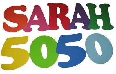 """Letterslinger  """"  50 Sarah 50 """""""