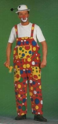 Clowns tuinbroek