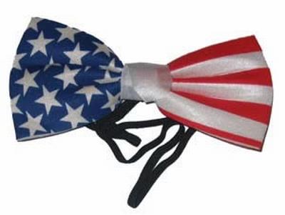 """Strikje  """" Americaanse vlag """""""