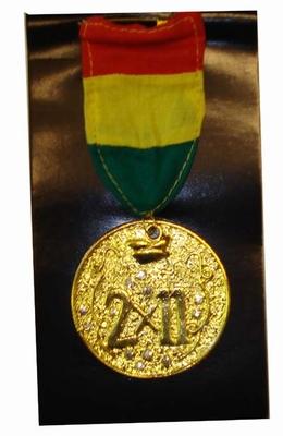 "Medaille  "" 2 x 11 """