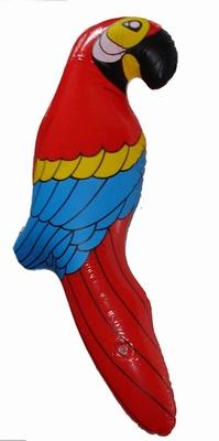 Opblaasbare papagaai