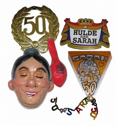 Feestpakket Sarah   5-delig