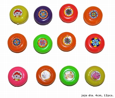 "Jojo's  "" Gekleurd ""  12 stuks"
