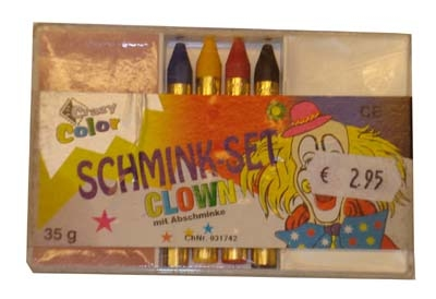 "Schmink set  "" Clown """