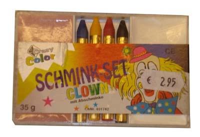 """Schmink set  """" Clown """""""