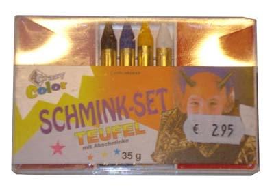 """Schmink set  """" Duivel """""""