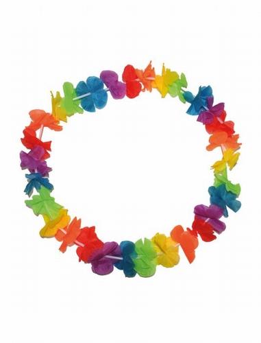 """Hawaii krans  """" Gekleurd """""""