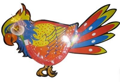 """Decoratie lampion """" Papegaai """""""