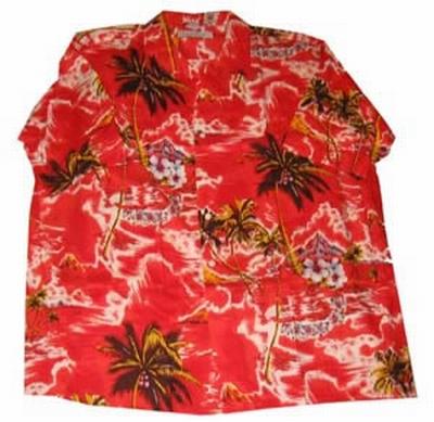 "Hawaii blouse  "" Rood """