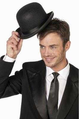 """Bol hoed  """" Zwart """""""