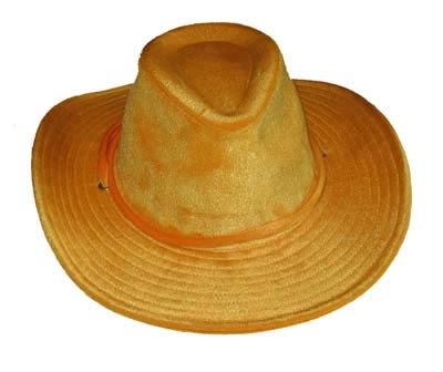 """Cowboyhoed  """" Geel """""""
