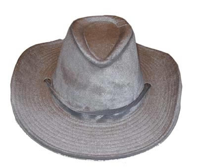 "Cowboy hoed  "" Grijs """