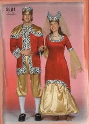 Koningin jurk