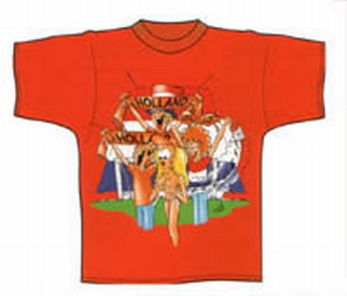 "Oranje T-shirt   "" Cup """