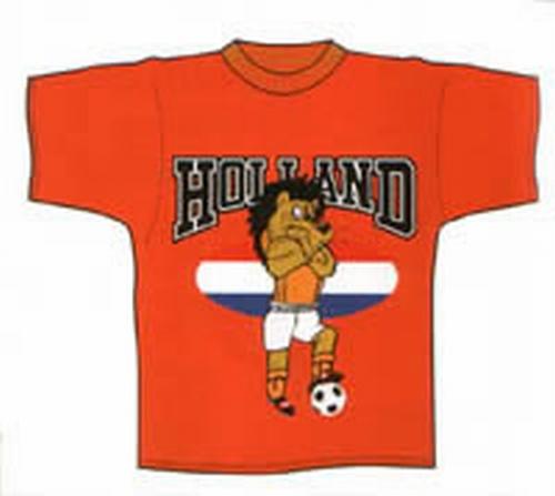 "Oranje T-shirt   "" Leeuw """