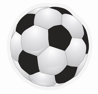 """Raamsticker  """" Voetbal """" 40 cm """""""