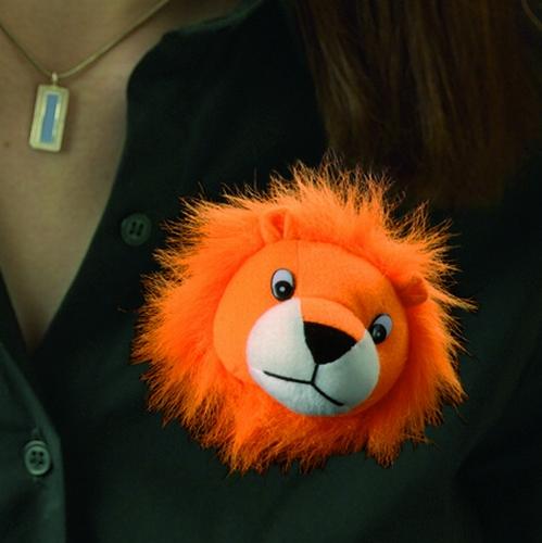 Broch leeuw