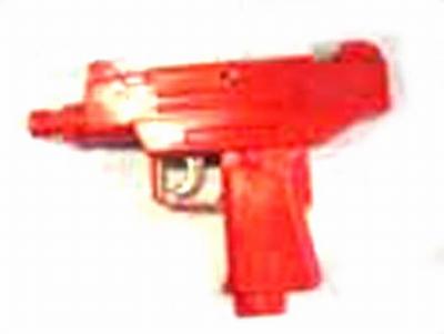 "Klapper pistool   "" Gekleurd """