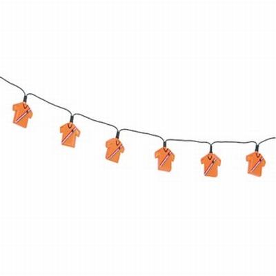 """Verlichting  """" 10 Oranje T-shirt """""""