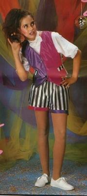 Disco meisje kostuum