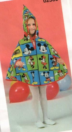 Mickey & Minnie mouse cape