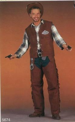 Cowboy vestje