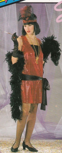 "Charleston jurk  "" Glitter """