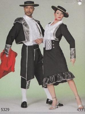 """Spanjaard  """" Zwart / zilver / wit """""""