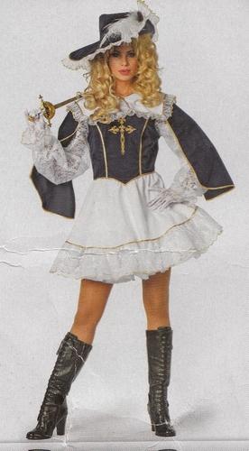 """Musketiers dame  """" Luxe """"  kort"""