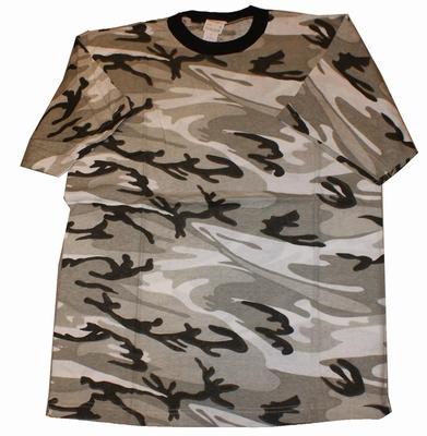 """Leger T-shirt  """" Zwart / wit """""""